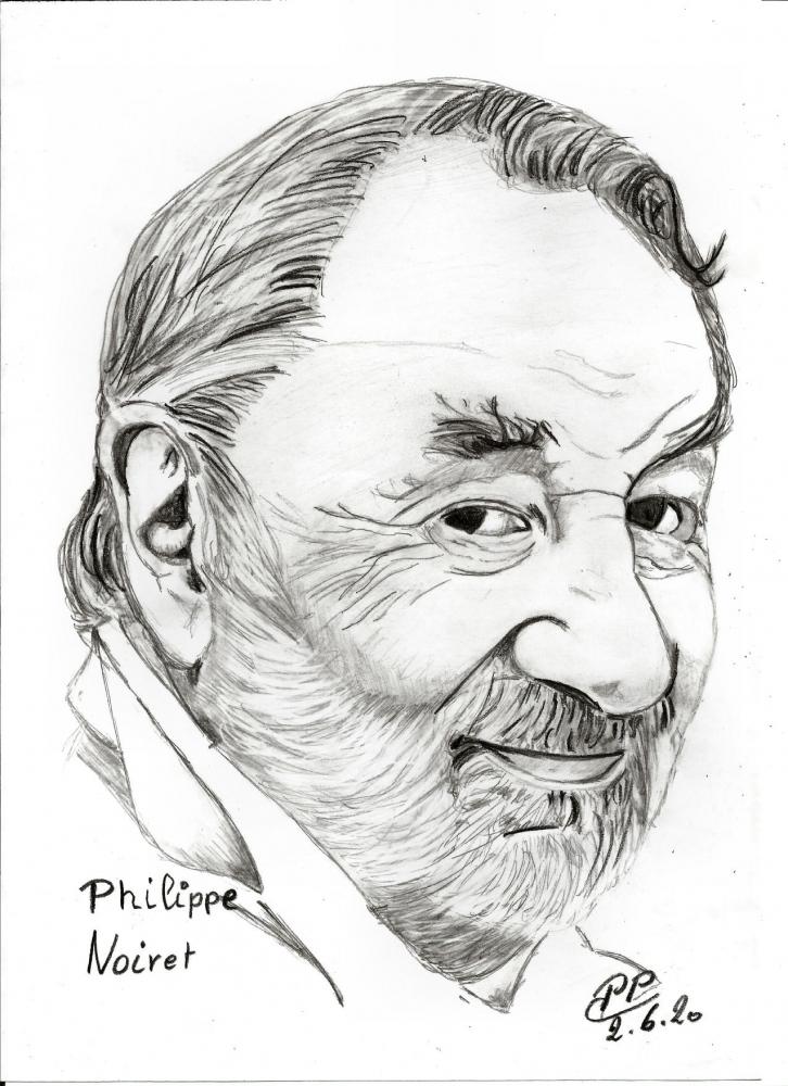 Philippe Noiret por Patoux
